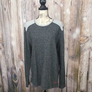 Tommy Bahama Soft Heathered Gray Sweater XL